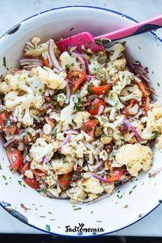Vegan Vegetarian, Vegetarian Recipes, Breakfast Salad, Pasta Salad, Chili, Salads, Food Porn, Snacks, Dishes