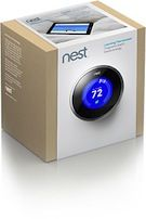 #Nest, a learning thermostat...after 7 days, will automatically adjust from then on based on your history of preferences. Holy smokes, I love this and want one! #Thermostat $249