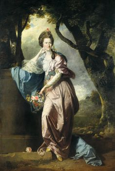 Mrs Woodhull c.1770, Johan Zoffany. Catherine Ingram (1744-1808), fourth daughter of the Rev. John Ingram of Wolford, Warwickshire, married Michael Woodhull (1740-1816), the eminent bibliophile, minor poet and translator of Euripides, in 1761. They had three children, all of whom predeceased their parents.