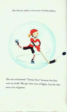 Gave up Dance for Hockey! from Belinda and the Glass Slipper book