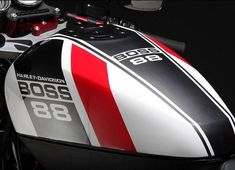 Harley Davidson XR 1200 Boss 88 by FreeSpirits - Fotogallery - 23 Motorcycle Tank, Motorcycle Design, Motorcycle Style, Bike Design, Cb400 Cafe Racer, Cafe Racer Bikes, Custom Motorcycle Paint Jobs, Custom Bikes, Bobber Kit