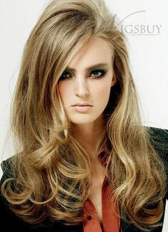 New Arrival Hot Sale Long Curly Hairstyle with Tousled Big Wavy Lace Wig 100% Human Hair about 20 Inches