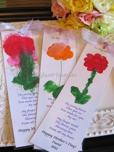 Mother's Day Bookmark wds-units