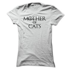Mother of Cats T Shirt - #gift for girlfriend #personalized gift. THE BEST  => https://www.sunfrog.com/Pets/Mother-of-Cats-T-Shirt-Ladies.html?id=60505