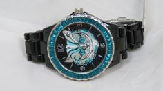Alice in Wonderland Watch Wristwatch Disney Cheshire Cat Crystal New Film #Disney #Casual