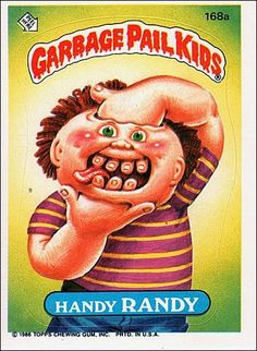 Garbage Pail Kids | I Love Sticky Rice