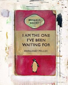Painting by Harland Miller