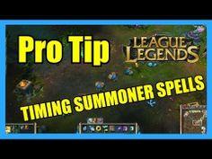 Pro Tips - Timing Summoner Spells | League of Legends Season 3