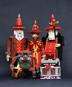 Sir Terry Pratchett, the brilliant mind behind the 41 books in the Discworld series, is honored by Finnish LEGO builder Pate-keetongu (Eero Okkonen) with an incredible collection of characters from…