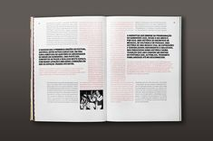 MagSpreads - Magazine Design and Editorial Inspiration: Jazz 20 Year Edition Book\\layouts creativos Essay Layout, Text Layout, Print Layout, Page Layout Design, Magazine Layout Design, Editorial Layout, Editorial Design, Graphic Projects, Typography Layout