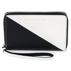 Shop for Marc by Marc Jacobs 'Wingman Sophisticato' Black and White Sliced Wallet. Get free shipping at Overstock.com - Your Online Accessories Outlet Store! Get 5% in rewards with Club O!