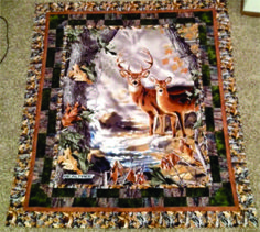 $33.99 REALTREE Panel Quilt Kit (approx. 68″x52″) Includes: Tax, Quilt Top & Pattern quiltstoreandmore.com