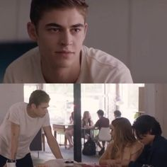 Hardin wearing a white shirt is just- 😍 Passion Film, Books Turned Into Movies, Pia Mia, Hardin Scott, After Movie, Dark Quotes, Hessa, Movies 2019, Sabrina Carpenter