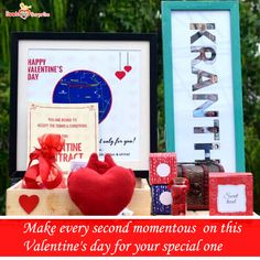 A day exploring gifts around would leave your Valentine amazed. Surprise your dearest on this Valentine's day with the 24 Hours Valentine Hamper. Happy Valentines Day, Valentine Gifts, Cuddle Pillow, Name Frame, Heart Pillow, Surprise Gifts, Hamper, Exploring, Unique Gifts