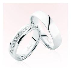 Verighete Jasmin JSS4106 Jasmine, Wedding Rings, Engagement Rings, Jewelry, Enagement Rings, Jewlery, Jewerly, Schmuck, Jewels