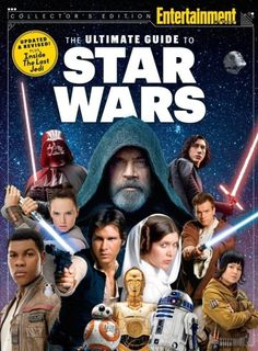 Entertainment Weekly's The Ultimate Guide to Star Wars looks back at the franchise through the years and features photos from The Last Jedi. Release date December 8.