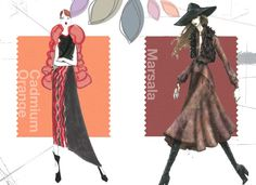 Top 10 Pantone Fashion Colors for Fall 2015 l #inspiration #trends