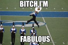 The former band geek in me loves this!