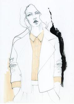 Fashion illustration // Polly Clarkson