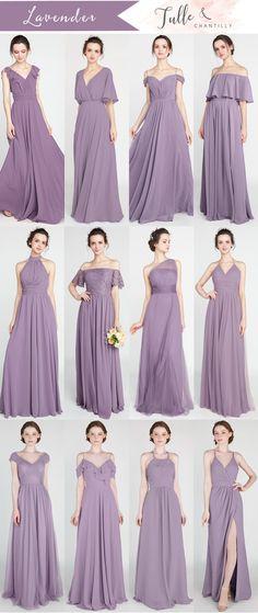 89051907e49 45 Best Lavender bridesmaid dresses images