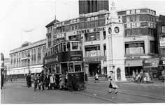 Lewisham High Street 1940's by Matt the Londoner, via Flickr