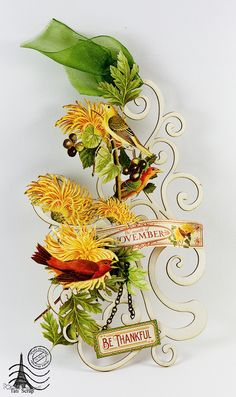 Time to Flourish. Thanksgiving Day Wall hanging