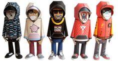 free Templates_Blog_Paper_Toy_papertoys_Hoody_Serie_2_DMC