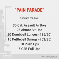 """123 gilla-markeringar, 1 kommentarer - Assault Fitness (@assaultairbike) på Instagram: """"This week's challenge should definitely not be done alone! Saddle up your Assault AirBike and get…"""""""