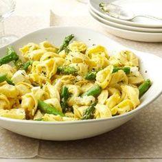 Tortellini with Asparagus