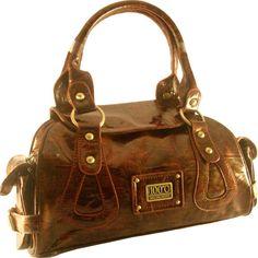 Brown Patent Leather handbag