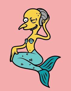 pencil drawings - Mr Burns Casino, The Simpsons Simpsons Tattoo, Simpsons Drawings, Simpsons Art, Hipster Drawings, Trippy Drawings, Funny Drawings, Easy Drawings, Pencil Drawings, Cartoon Memes