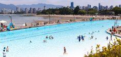 Splash around a gigantic, urban, outdoor, heated saltwater pool? Don't mind if we do.