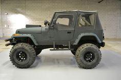 The Jeep Wrangler Jeep Cj7, Jeep Wrangler Yj, Jeep Wrangler Unlimited, Cool Jeeps, Cool Trucks, Camo Truck Accessories, Jeep Mods, Jeep Liberty, Jeep Truck