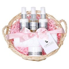 Mothers Day organic pamper gift sets for women award winning pamper gift sets for mum a pamper gift with stress balm body oil hand and foot creams paraben and cruelty free in natural reusable basket Rose Gift, Gift Sets For Women, Foot Cream, White Lilies, Spa Gifts, Body Scrub, Shower Gel, Body Lotion, Bath And Body