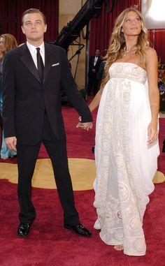 Leonardo DiCaprio & Gisele Bundchen from Throwback: Couples at the Oscars | E! Online
