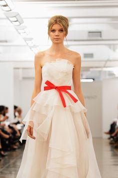 Carmen Marc Valvo New York Fashion Week Spring 2013 white gown Strapless Dress Formal, Formal Dresses, Wedding Dresses, Carmen Marc Valvo, White Gowns, Red Carpet, Runway, Dressing, Celebrities