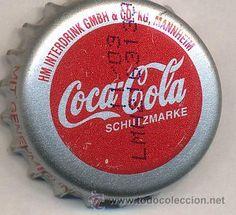 ALEMANIA - soda refresco coca cola - CHAPAS, TAPONES CORONA, CROWN CAPS, BOTTLE CAPS, KRONKORKEN