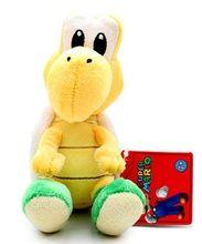 Super Mario Bros- Green Koopa 5 Inch Plush Toy
