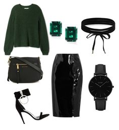 """""""Untitled #1"""" by xqueen-lynnx on Polyvore featuring Topshop Unique, Off-White, Boohoo, CLUSE, CARAT* London and Marc Jacobs"""