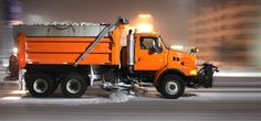 GPS navigation map updates for vehicles and portable devices Snow Removal Equipment, System Map, Heavy Duty Trucks, Snow Plow, Cold Meals, Gps Navigation, Cool Trucks, Construction, Vehicles