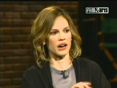 Inside The Actors Studio - Hilary Swank. This woman is such an inspiration. There are times when I feel like I have no chance of ever making it into the film industry. Her story reminds me otherwise. Thank you Hilary Swank.