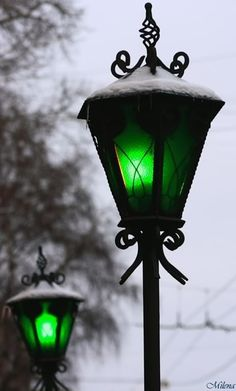 Something so romantic about lamposts