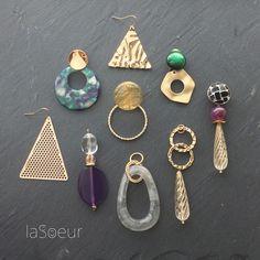【Autumn-Winter】おすすめ作品ご案内☆ Beaded Earrings, Earrings Handmade, Beaded Jewelry, Handmade Jewelry, Ceramic Jewelry, Resin Jewelry, Jewelry Crafts, Jewelry Trends, Jewelry Accessories