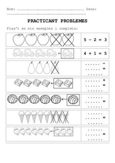 Worksheets, Maths, Control, Oil Paintings, Preschool, Kids Math, Initials, Happy, Addition And Subtraction