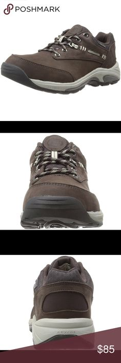New Balance Country Trail Running Shoe New without tags or box. Size 6.5. Brown in color. 100% leather. Rubber sole. Cap midsole with absorbing cushion. Gore Tex. Roll bar. Debris free construction. New Balance Shoes Athletic Shoes