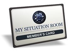 MY SITUATION ROOM MEMBER CARD