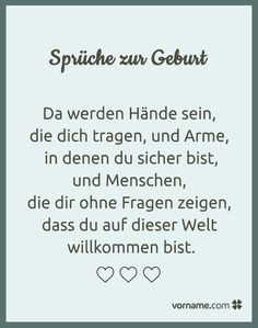 Schöne Sprüche zur Geburt Here you will find the most beautiful sayings for new parents or relatives and friends who want to give the baby her best wishes for birth. The Words, Parenting Fail, Kids And Parenting, Nouveaux Parents, Mother Daughter Relationships, Baby Blog, Baby Quotes, New Parents, Beautiful Words