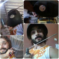 #Cage #building day, baby / dia de fazer #viveiro, bebê #animalwelfare #Bird #petbird #Macaw #parrots #ecletus #arara #BemEstarAnimal #saudável www.beanimal.com.br