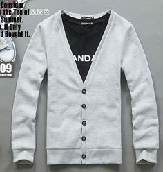 Men's Sweater Cardigans