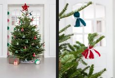 """This DIY Xmas decoration idea is from our feature """"A Scandinavian Twist"""""""